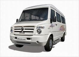 12 Seater Tempoo Traveller